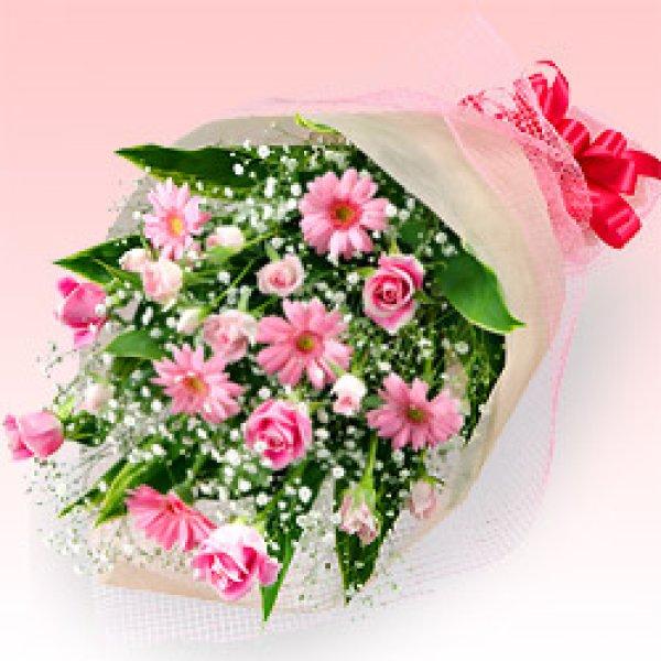 画像1: 【近江八幡市内へのお届け商品】おまかせ花束! (1)